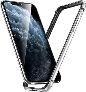 ESR iPhone 11 Pro Max ケース アイホン 11 Pro Max 衝撃吸収バンパー ケース 【スリム 軽量 電波影響無し 安心保護 ストラップホール付き】6.5インチ iPhone 11 Pro Max 專用スマホケース (シルバー)