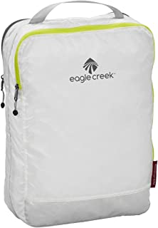 Eagle Creek Pack-It Specter Clean/Dirty Split Cube Packing Organizer, White/Strobe (M)