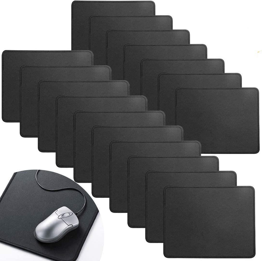 Selling rankings 17 Pcs Computer Mouse Pad Gaming Extended 10.2x8.2inch Black Mou Direct store