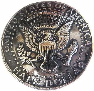 USAアメリカ合衆国 ハーフダラー硬貨裏面 ワシの紋章 メダル/コイン コンチョCONCHO