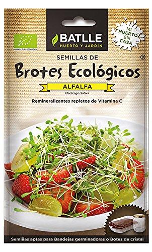 Semillas Ecológicas Brotes - Brotes ecológicos de Alfalfa - Batlle