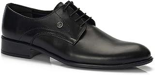 Muggo H043 Hakiki Deri Klasik Erkek Ayakkabı Moda Ayakkabılar Erkek