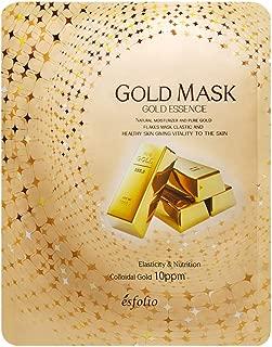 Esfolio Gold Essence Mask (10 Sheets)