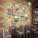 Fotos 3D Effekt Tapete Wandgemälde Milch Tee Fast Food