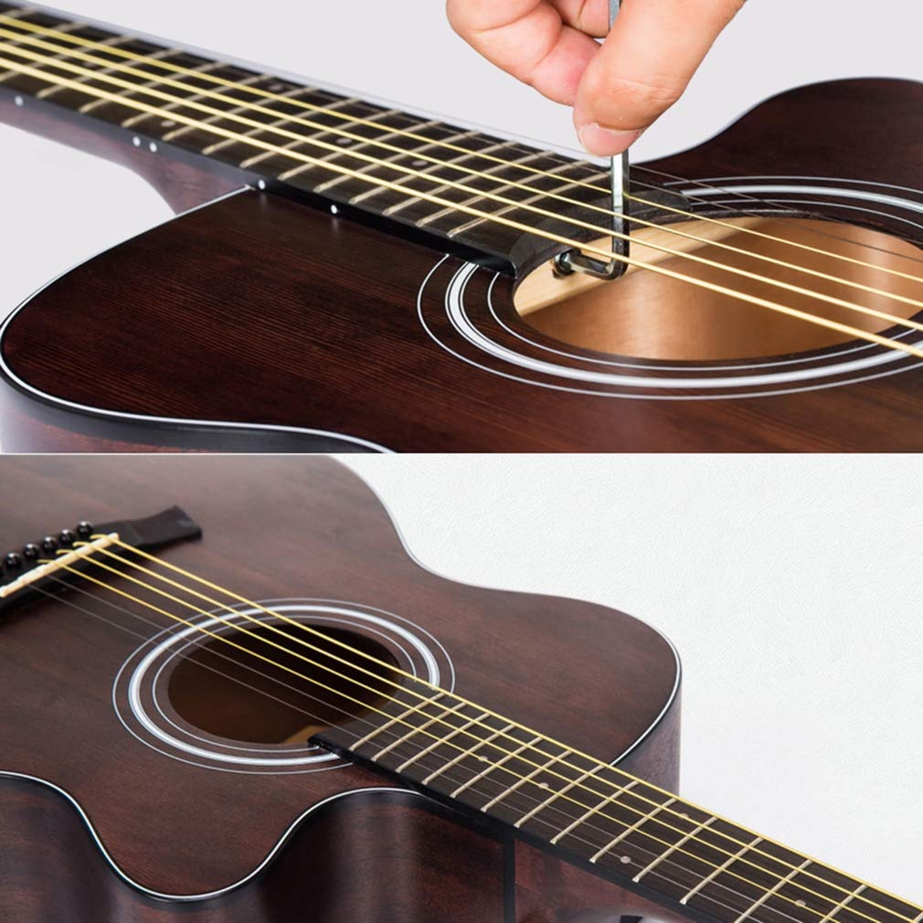 Aprender A Tocar La Guitarra Acústica De Caoba, Kit De Inicio ...