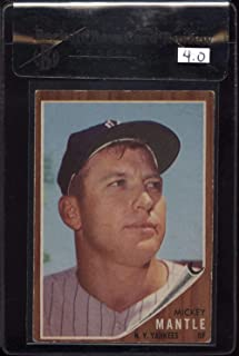 1962 topps 200 mickey mantle