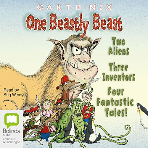 One Beastly Beast audiobook cover art