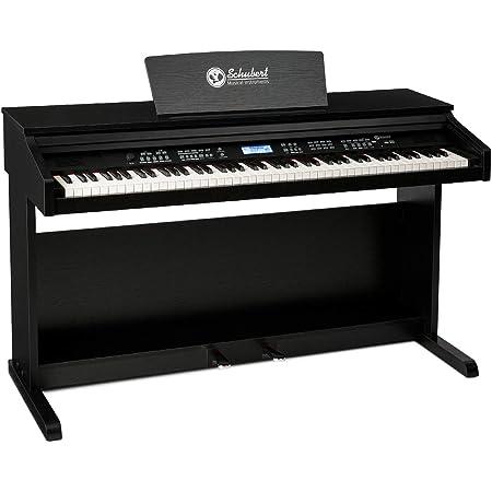 Schubert Subi 88 MK II - Piano Digital , Teclado eléctrico de 88 Teclas , Midi , USB , 360 Sonidos , 160 ritmos , 80 Canciones Demo , Pantalla LCD , ...