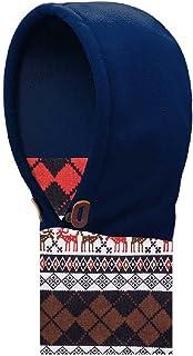 YAPJEB Kids Children's Balaclava Full Face Cover Face Mask Windproof Neck Warmer Fleece Skiing Cap Hood Hat