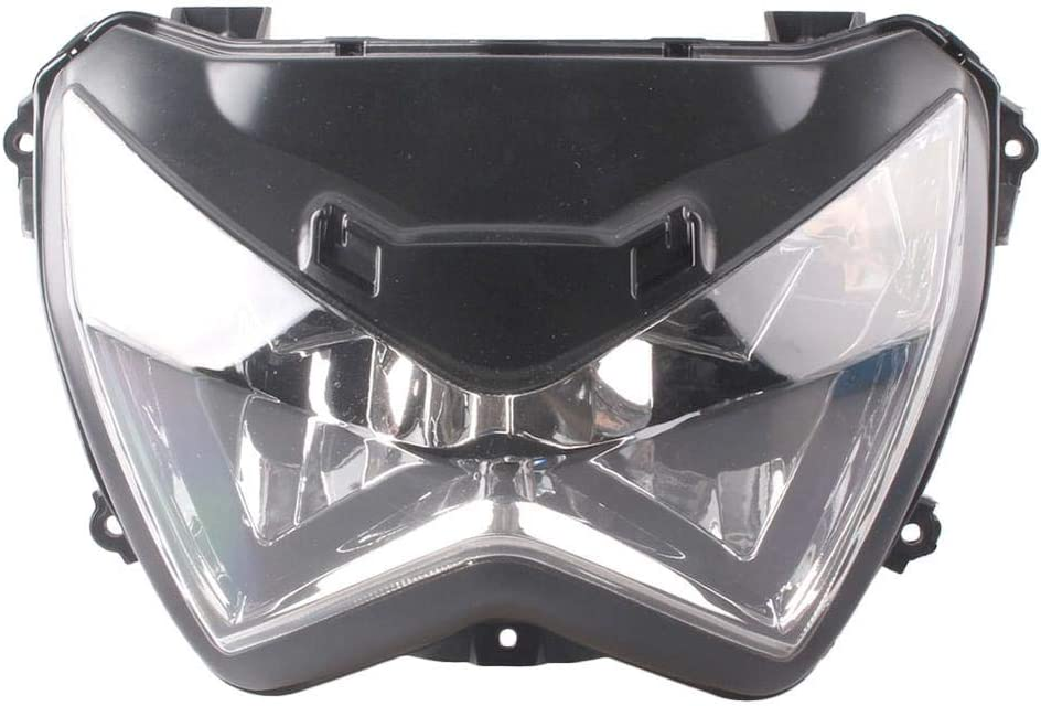 Three T Motorcycle Front Headlight Brac Head with Detroit Mall Assembly Lamp Free shipping on posting reviews