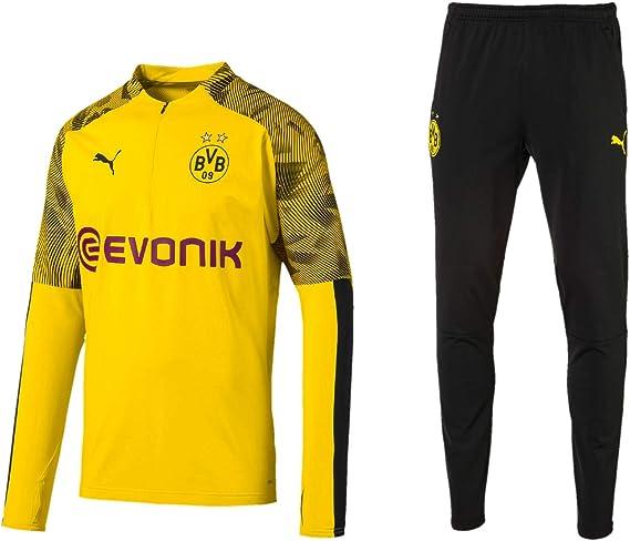 PUMA BVB Fanartikel Borussia Dortmund 2019/20 - Tuta da Allenamento da Uomo