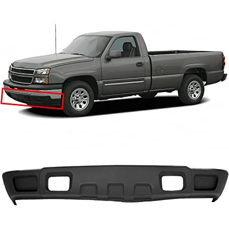 Amazon Com Mbi Auto Textured Black Lower Front Air Deflector For 2003 2006 Chevy Silverado 1500 W Tow 03 06 Gm1092205 Automotive
