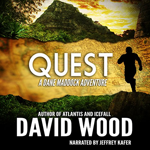 Quest: A Dane Maddock Adventure audiobook cover art