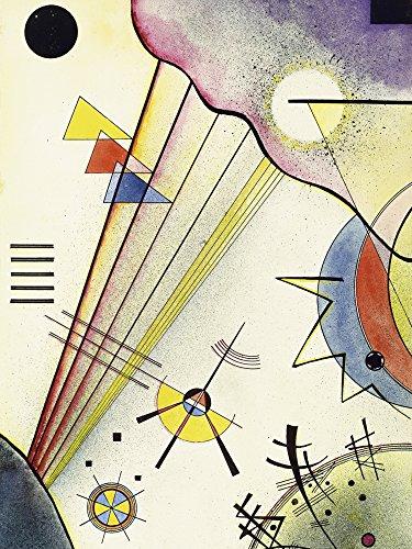 Artland Alte Meister Kunst Wandtattoo Wassily Kandinsky Bilder Expressionismus 120 x 90 cm Deutliche Verbindung Kunstdruck Klebefolie Gemälde R0PV