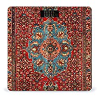 Idjar Antique Kurdish North West Persian LCDディスプレイ付き高精度スマートフィットネススケール体重デジタルバスルームボディスケール