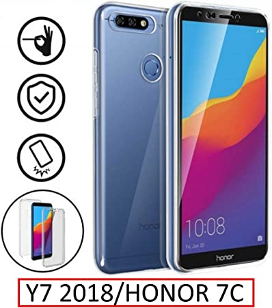 New&Teck® Coque Huawei Y7 2018 – Protection intégrale Avant ...
