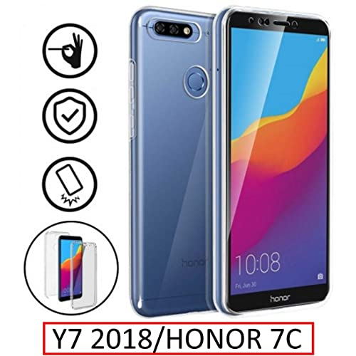eb51435833d122 New amp Teck Case for Huawei Y7 2018 – Full Protection Front + Back Rigid