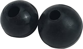 TOURBON Hunting Rifle Bolt Knob Rubber Ball Black (Pack of 2 Pieces)