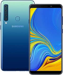 Samsung Galaxy A9 2018 (SM-A920F/DS) 6GB / 128GB 6.3-inches LTE Dual SIM Factory Unlocked - International Stock No Warranty (Lemonade Blue)