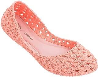 + Melissa Luxury Shoes Women's x Campana Crochet Flat Pale Pink 8 UK (US Women's 10) B (M)