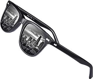 Retro Polarized Men's Sunglasses UV400 Protection Acetate Frame