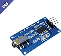 Ximimark 1Pcs YX5300 MP3 Music Player Module Voice Serial Port UART Control Module with TF Card Slot for Arduino/AVR/ARM/PIC