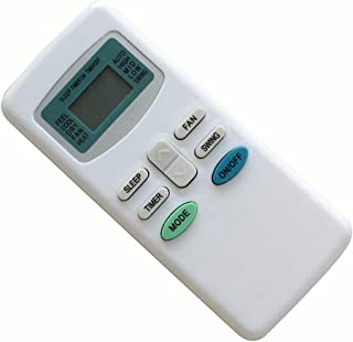 Easytry123 Remote Control for Soleus KFTZHP-12D-ID KFTHP-09-ID KFTHP-12-ID KFTHP-18-ID KFTHP-24-ID & FUJICO GYKQ-03 Air Co...