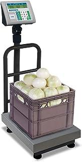 Advance BAPLE-100 báscula de plataforma plegable de 100 kg / 20 gr. Indicador con pantalla peso, precio y total. Cálculo d...