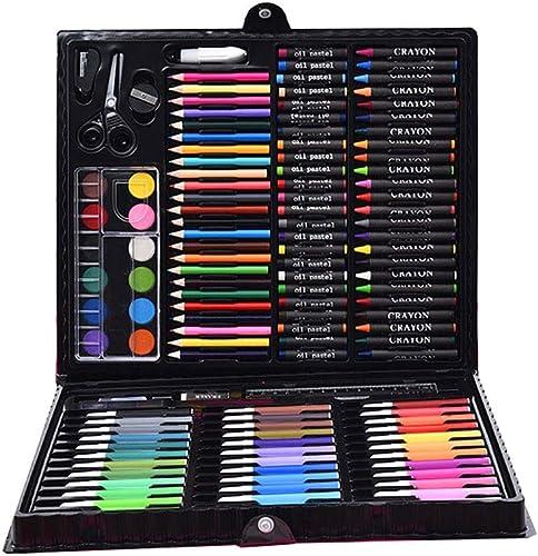 Wuxingqing Farbstifte Skizzensatz Zeichnen von Bleistiften für Künstler-Werkzeug im personalisierten Grün Fall Studenten Aquarellmalerei Farbstifte (Farbe   schwarz, Größe   Free Größe)
