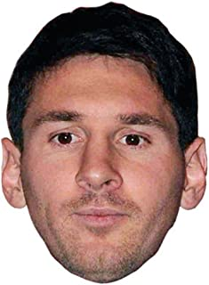 Lionel Messi Celebrity Mask, Card Face and Fancy Dress Mask