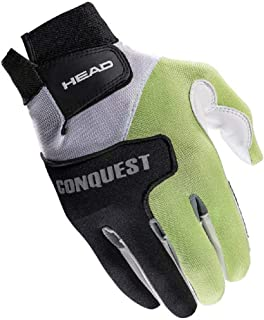 HEAD Leather Racquetball Glove - Conquest Extra Grip Breathable Glove for Right & Left Hand