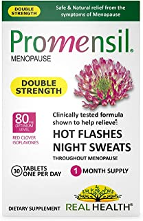 Real Health Promensil Menopause Double Strength Relief, 30 Tablets