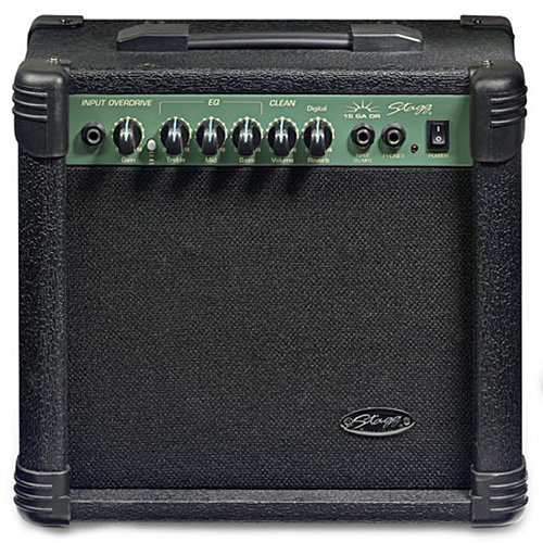 Stagg 25015603 15 GA DR EU Digital REVB Gitarre Amplifier (15 Watt)