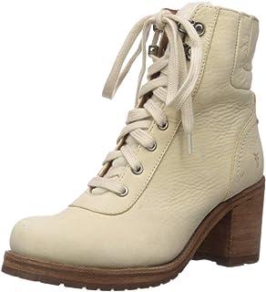 FRYE Women's Karen Hiker Snow Boot, Off White, 7.5 M US