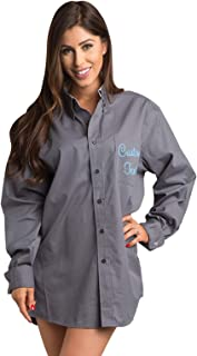 oversized men's shirts for bridesmaids