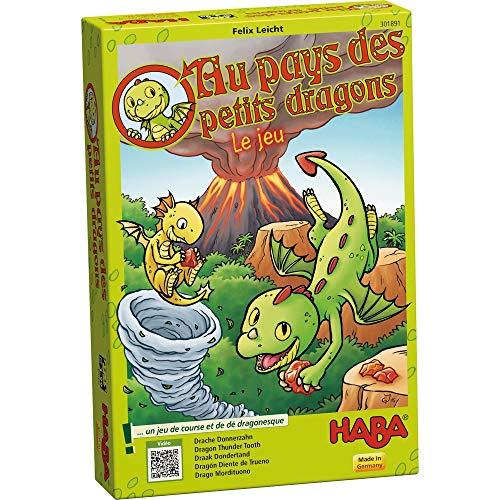 HABA-Au Pays des Petits Dragons Le Jeu, 301891