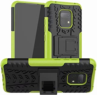 Soosos case for Xiaomi Redmi 10X Pro(5G) case With Kickstand hybrid heavy duty 2 in 1 Anti-fall protection Cover Hyun patt...