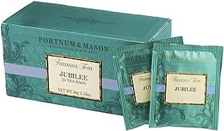Fortnum & Mason British Tea, Jubilee Blend, 25 Count Teabags (1 Pack) -fmjb65c - USA Stock