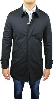 Cappotto Soprabito Uomo Sartoriale Nero Elegante Casual Invernale Made in Italy Taglia S M L XL XXL 3XL