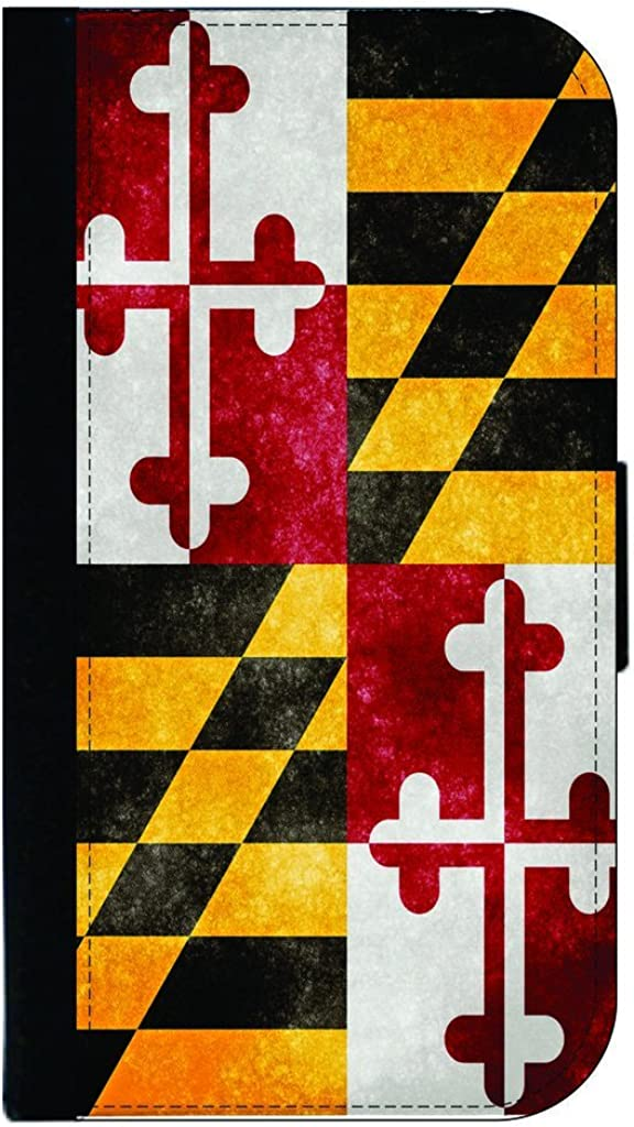 We OFFer at cheap prices Maryland State Rare Grunge Flag TM Leather Suede and Co Passport Look