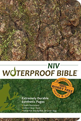 Waterproof Bible NIV(2011) Camouflage