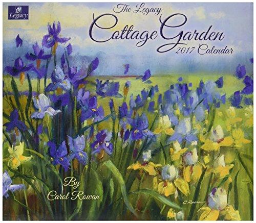Legacy Publishing Group 2017 Wall Calendar, Cottage Garden