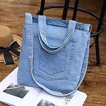 AYN Bolso de Mujer Jeans Bolsos de Hombro Bolso de Mujer Bolso Bandolera Femenino, 3