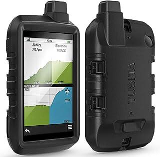 TUSITA Hoesje Compatibel met Garmin Montana 700 - Siliconen Bescherming Hoes Beschermhoes Huid - Handheld GPS Navigator Ac...
