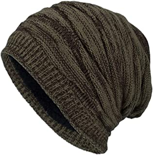 c14e088b39f AOJIAN Black Humor Unisex Knit Cap Plus Velvet Beanie Cap Winter Warm Hats