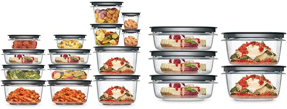 Rubbermaid Meal Price reduction Prep Premier Food Storage Container Se 28 Mesa Mall Piece