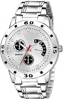 Spanking Digital White Dial Multi-Function line Band Men's Watch