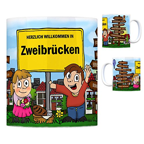 trendaffe - Herzlich Willkommen in Zweibrücken Pfalz Kaffeebecher