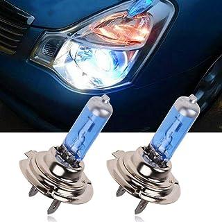2 Stück H7 6000K Halogen Scheinwerfer, Xenon Leuchtmittel, weißes Licht, 55 W, 12 V Frontscheinwerfer für das Auto.