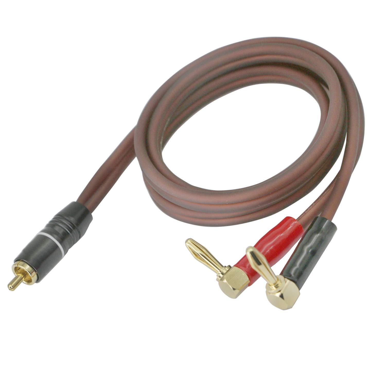 Cinch Kabel Lautsprecherkabel Bananenstecker High End Elektronik